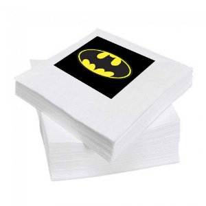 8 Guardanapos Batman Geek