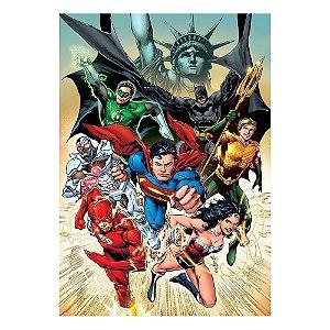 Poster Liga da Justiça 30x43 - 1 Unidade