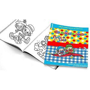 5 Cadernos de Colorir Patati Patatá