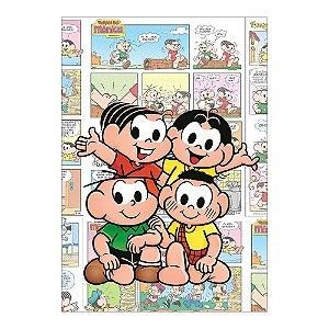 Poster Turma da Mônica 30x43 - 1 Unidade