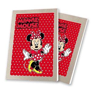 5 Bloquinhos de Papel 25 Folhas Minnie Vermelha 10,5x7,5cm