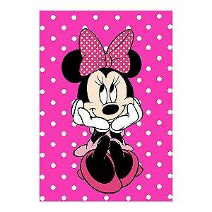 Poster Minnie Rosa 30x43 - 1 Unidade