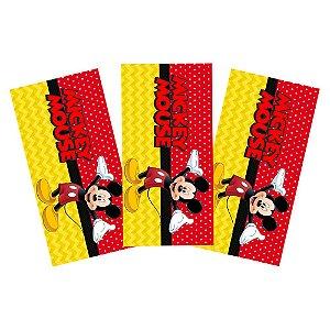 6 Adesivos Mickey Retangular 20x10cm