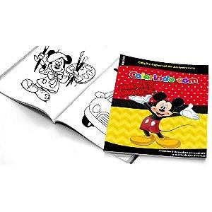 5 Cadernos de Colorir Mickey