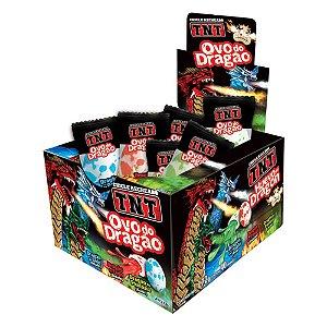 Chiclete TNT Ovo de Dragão 172g - Caixa com 40 unidades