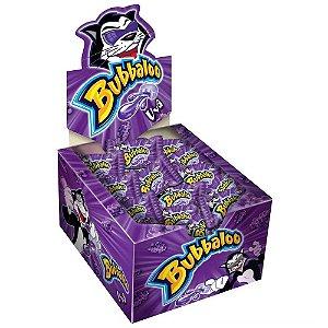 Chiclete Bubbaloo Uva - Caixa com 60 Unidades