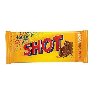 Barra de Chocolate Shot Amendoim Lacta 90g