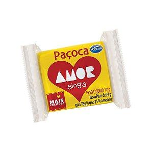 Paçoca Amor Arcor 18g - 1 Unidade