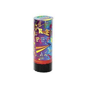 Lança Papéis Laminados e Serpentinas Party Poppers 11cm - 1 Unidade