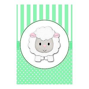 Poster Chá de Bebê Verde 30x43 - 1 Unidade