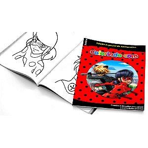 5 Cadernos de Colorir Ladybug Miraculous