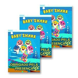 30 Tags Baby Shark 4x3cm