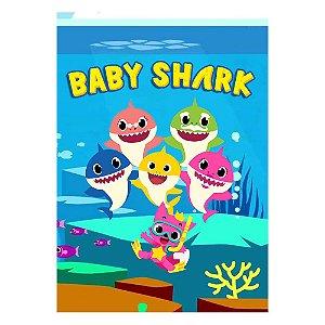 Poster Baby Shark 30x43 - 1 Unidade