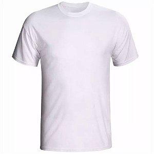 Camiseta Branca 100% Algodão (1ª Linha)