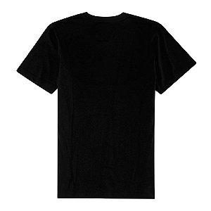 Camiseta Preta 100% Algodão (1ª Linha)