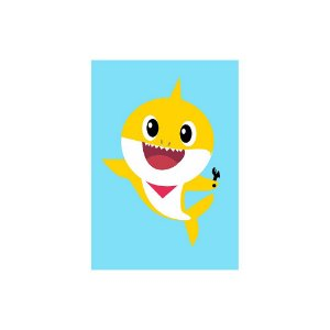 Poster Baby Shark - Bebê Baby 30x43 - 1 Unidade