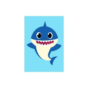 Poster Baby Shark - Papai Daddy 30x43 - 1 Unidade