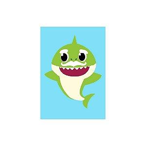 Poster Baby Shark - Vovô Grandpa 30x43 - 1 Unidade