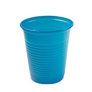 Copo Descartável Azul Claro 200ml 50 Unidades