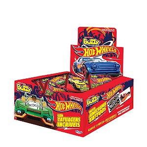 Chiclete Hot Wheels Buzzy Sabor Tutti Frutti 400g - Caixa com 100 unidades