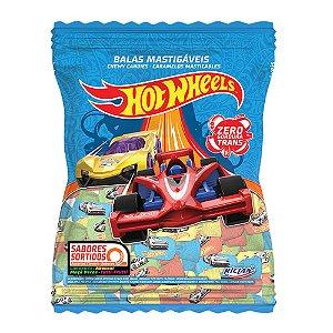 Balas Mastigáveis Hot Wheels Sabores Sortidos - 600g