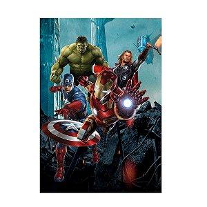 Poster Vingadores 30x43 - 1 Unidade