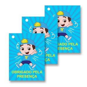 30 Tags Luccas Neto 4x3cm