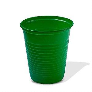 Copo Descartável Verde 200ml 50 Unidades