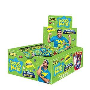 Chiclete Luccas Neto Buzzy Sabor Hortelã 400g - Caixa com 100 unidades