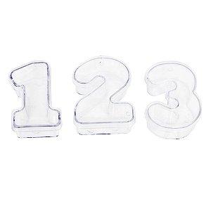 Números Baleiro Acrílico - Escolha os Números