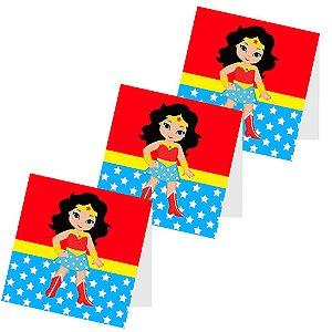 12 Capas de Pirulito Mulher Maravilha Baby