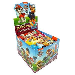 Pirulito Mola de Dedo Patrulha Canina Spring Pop Caixa com 25 Unidades