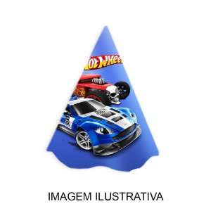 5 Chapéus de Festa Hot Wheels