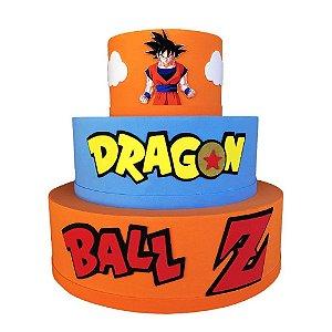 Bolo Fake Decorativo Dragon Ball Z