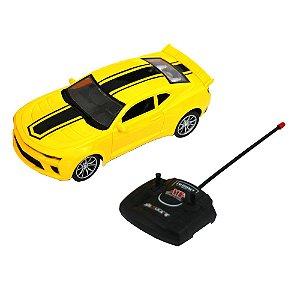 Carro de Controle Remoto Camaro Amarelo