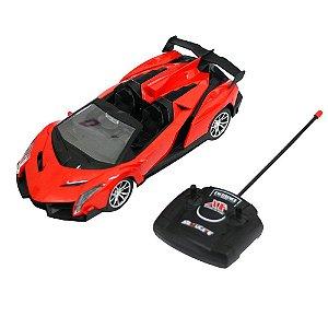 Carro de Controle Remoto Lamborghini Vermelha
