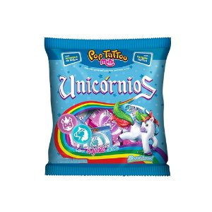 Pirulito Unicórnio Pop Tattoo Mini - 60g