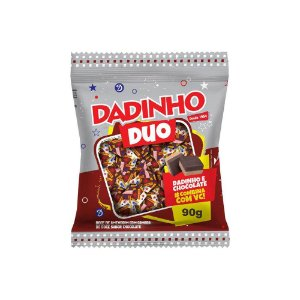 Dadinho DUO Amendoim e Chocolate - 90g
