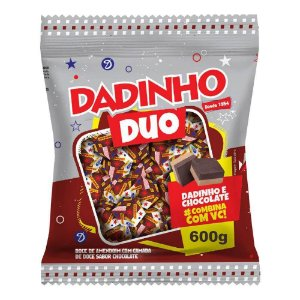 Dadinho DUO Amendoim e Chocolate - 600g