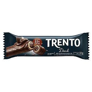 Chocolate Trento Recheado Sabor Dark com 2 Unidades