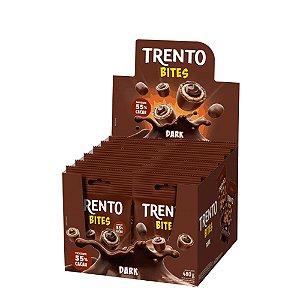 Caixa Chocolate Trento Bites Recheio Dark 40g com 12 Unidades