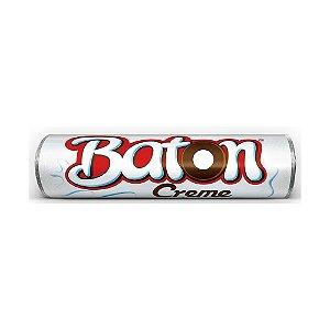 Chocolate Baton Garoto Recheio Creme ao Leite 16g - 1 Unidade