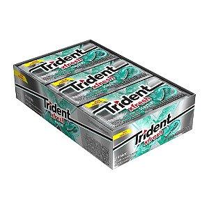 Caixa Chiclete Trident Xfresh Herbal com 21 Unidades
