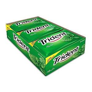 Caixa Chiclete Trident Menta Verde com 21 Unidades