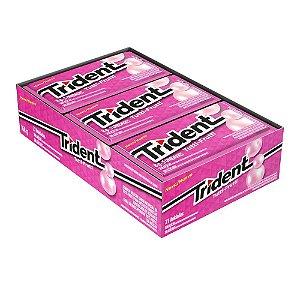 Caixa Chiclete Trident Tutti Frutti com 21 Unidades