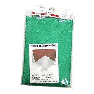 Toalha de TNT para Mesa de Festa Verde Bandeira - 1 Unidade