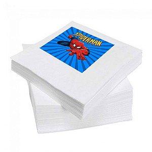 8 Guardanapos Homem Aranha