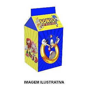 5 Caixinhas Milk Sonic Para Lembrancinha