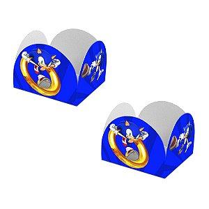 20 Forminhas de Doces Caixeta Sonic