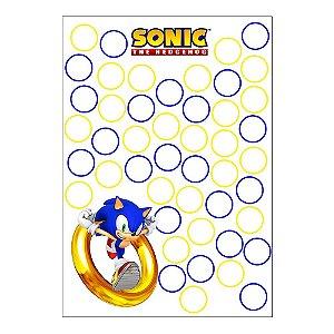 Quadro de Assinaturas e Digitais Sonic 30x43cm - 1 Unidade